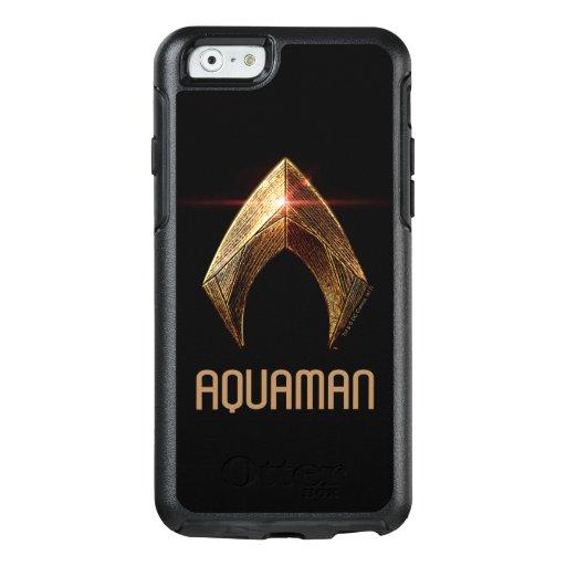 Justice League | Metallic Aquaman Symbol OtterBox iPhone 6/6s Case