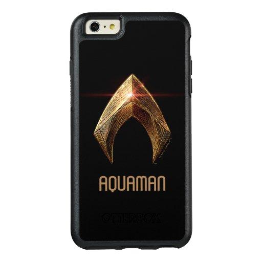 Justice League | Metallic Aquaman Symbol OtterBox iPhone 6/6s Plus Case