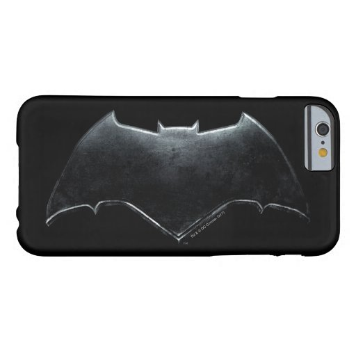 Justice League | Metallic Batman Symbol Barely There iPhone 6 Case
