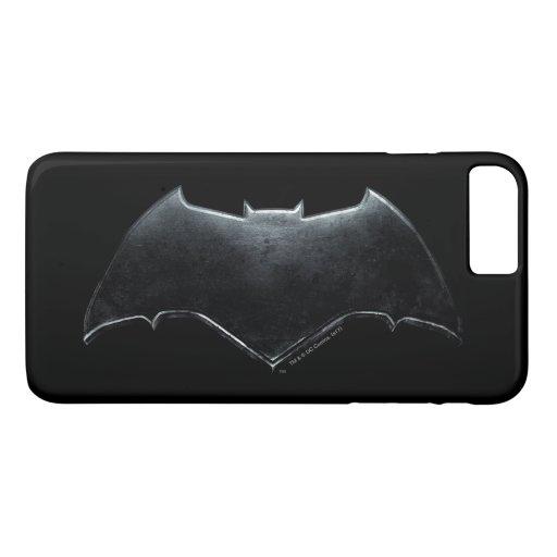 Justice League | Metallic Batman Symbol iPhone 8 Plus/7 Plus Case