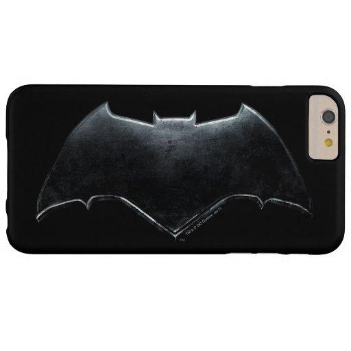 Justice League | Metallic Batman Symbol Barely There iPhone 6 Plus Case
