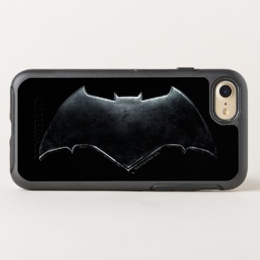 Justice League | Metallic Batman Symbol OtterBox Symmetry iPhone 8/7 Case