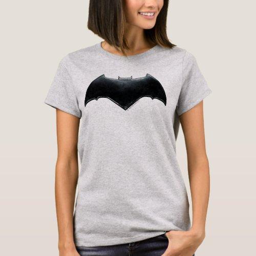Justice League  Metallic Batman Symbol T_Shirt
