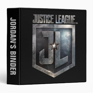 Justice League | Metallic JL Shield 3 Ring Binder