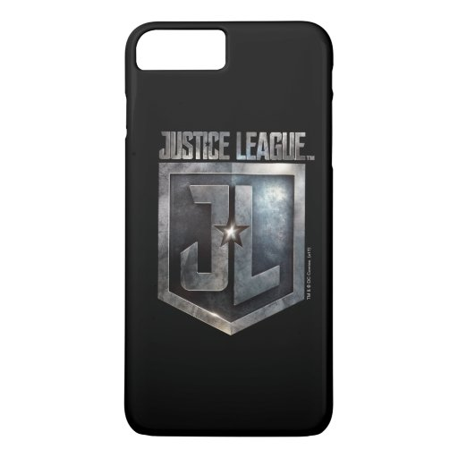 Justice League | Metallic JL Shield iPhone 8 Plus/7 Plus Case