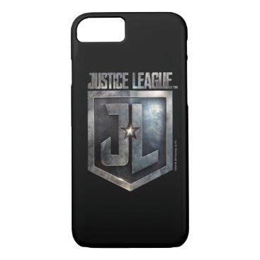 Justice League   Metallic JL Shield iPhone 8/7 Case