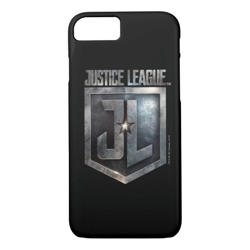 Justice League | Metallic JL Shield iPhone 8/7 Case