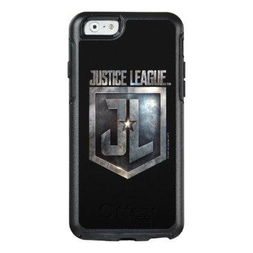 Justice League   Metallic JL Shield OtterBox iPhone 6/6s Case
