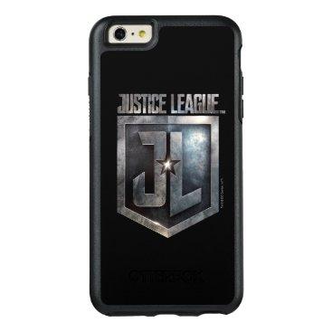 Justice League   Metallic JL Shield OtterBox iPhone 6/6s Plus Case