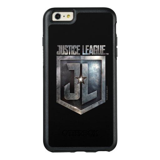 Justice League | Metallic JL Shield OtterBox iPhone 6/6s Plus Case