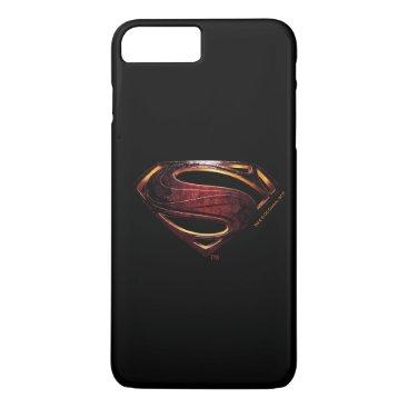 Justice League | Metallic Superman Symbol iPhone 8 Plus/7 Plus Case