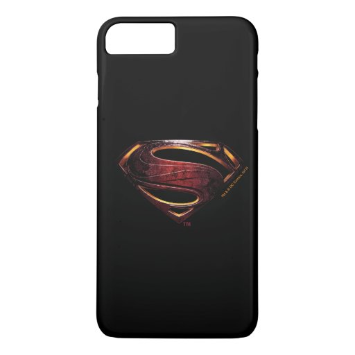 Justice League | Metallic Superman Symbol iPhone 8 Plus/7 Plus Case