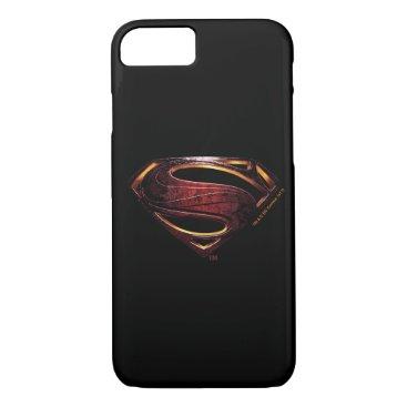 Justice League | Metallic Superman Symbol iPhone 8/7 Case