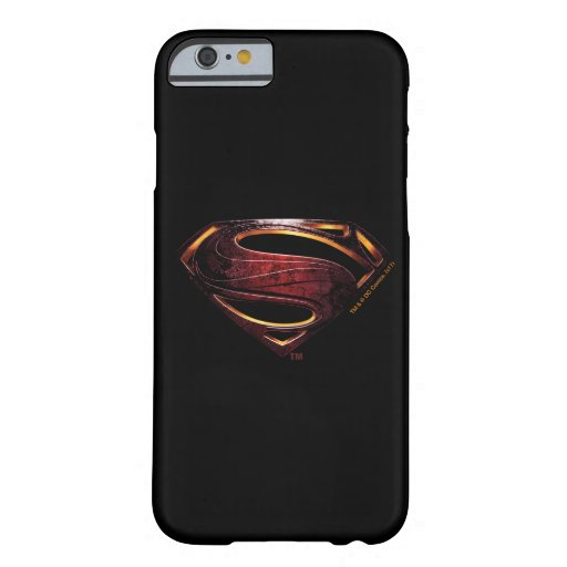 Justice League | Metallic Superman Symbol Barely There iPhone 6 Case