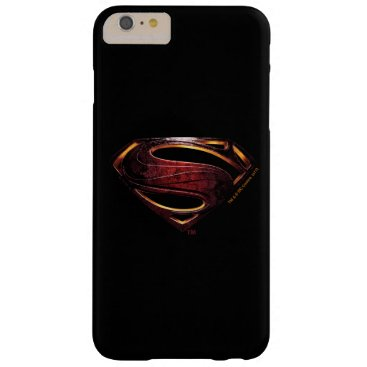 Justice League | Metallic Superman Symbol Barely There iPhone 6 Plus Case