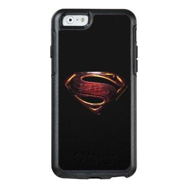 Justice League | Metallic Superman Symbol OtterBox iPhone 6/6s Case