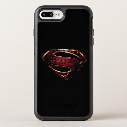 Justice League   Metallic Superman Symbol Phone Case