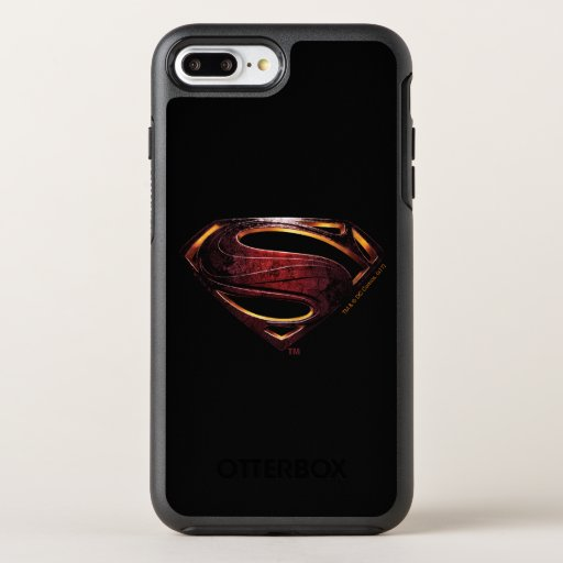 Justice League | Metallic Superman Symbol OtterBox Symmetry iPhone 8 Plus/7 Plus Case