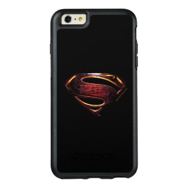 Justice League | Metallic Superman Symbol OtterBox iPhone 6/6s Plus Case