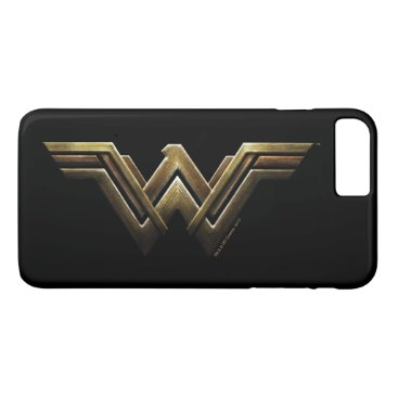 Justice League | Metallic Wonder Woman Symbol iPhone 8 Plus/7 Plus Case