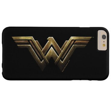 Justice League | Metallic Wonder Woman Symbol Barely There iPhone 6 Plus Case