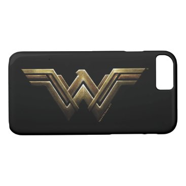 Justice League | Metallic Wonder Woman Symbol iPhone 8/7 Case