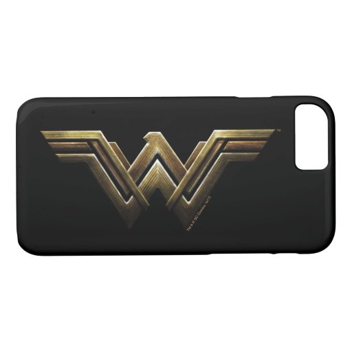 Justice League | Metallic Wonder Woman Symbol iPhone 8/7 Case