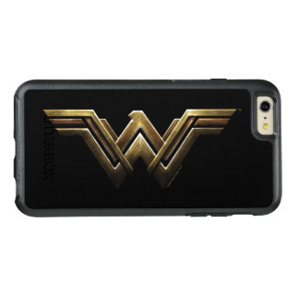 Justice League | Metallic Wonder Woman Symbol OtterBox iPhone 6/6s Plus Case