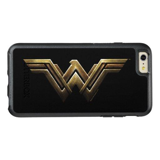 Justice League | Metallic Wonder Woman Symbol OtterBox iPhone 6/6s Plus Case