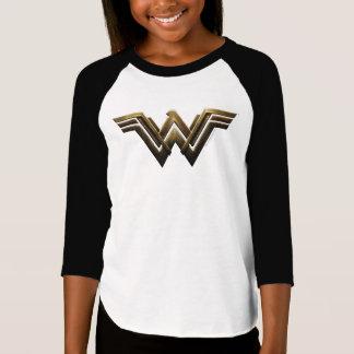 Justice League | Metallic Wonder Woman Symbol T-Shirt