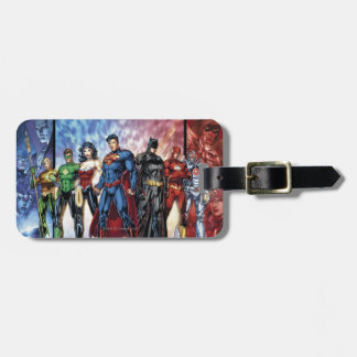 Justice League | New 52 Justice League Line Up Bag Tag