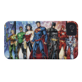 Justice League | New 52 Justice League Line Up Case-Mate iPhone 4 Case