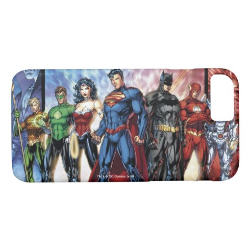 Justice League | New 52 Justice League Line Up iPhone 8/7 Case