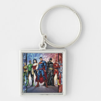 Justice League | New 52 Justice League Line Up Keychain