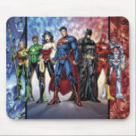 "Justice League | New 52 Justice League Line Up Mouse Pad<br><div class=""desc"">The New 52</div>"