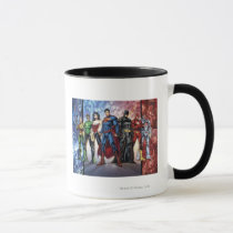 the new 52, new 52, dc comics, comics, justice league, 1, justice league number 1, justice league no. 1, Mug with custom graphic design