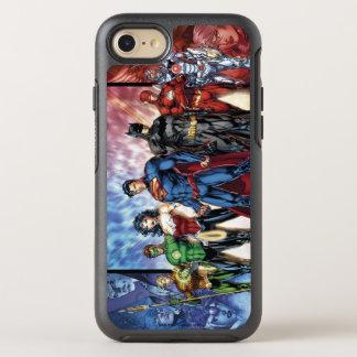 Justice League | New 52 Justice League Line Up OtterBox Symmetry iPhone 7 Case