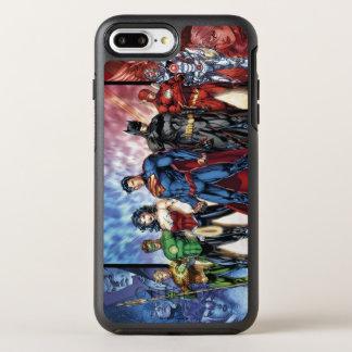 Justice League | New 52 Justice League Line Up OtterBox Symmetry iPhone 8 Plus/7 Plus Case