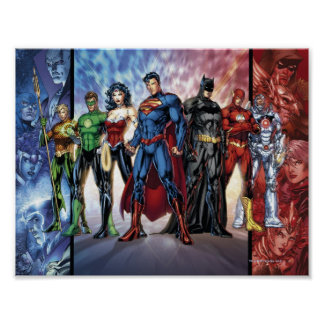 Justice League | New 52 Justice League Line Up Poster