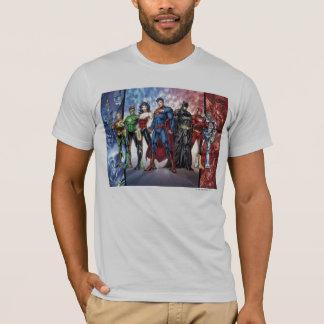Justice League   New 52 Justice League Line Up T-Shirt