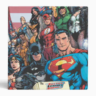 Justice League of America First Issue Binder