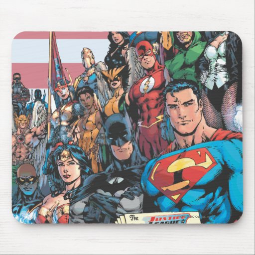 Justice League of America First Issue Mousepads