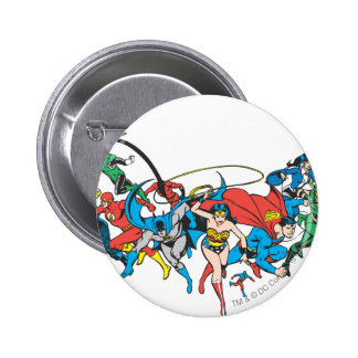 Justice League of America Group 2 2 Inch Round Button