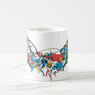 Justice League of America Group 2 Coffee Mug