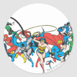 Justice League of America Group 2 Sticker