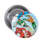 Justice League of America Group 3 2 Inch Round Button