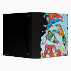 Justice League of America Group 3 3 Ring Binder