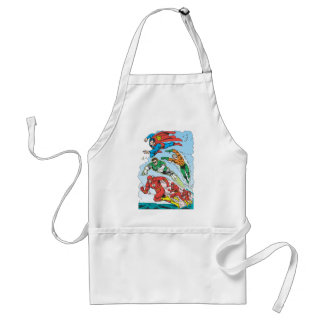 Justice League of America Group 3 Adult Apron