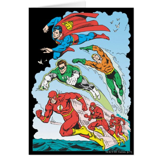 Justice League of America Group 3 Card