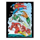 Justice League of America Group 3 Postcard